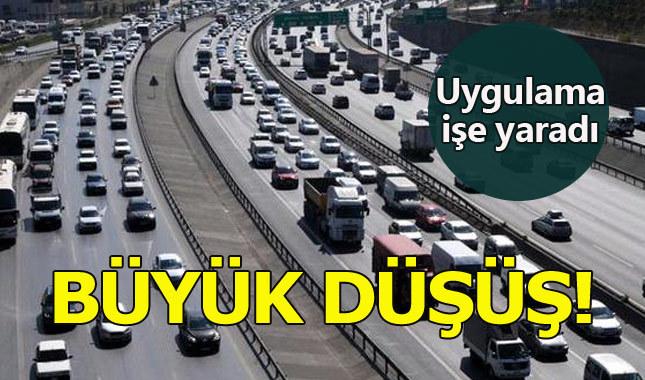 'Ortalama hız sistemi' trafik kazalarını düşürdü