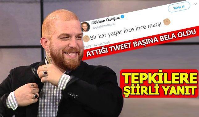 Oyunu attığı tweet ile belli eden Gökhan'a tepki yağdı!