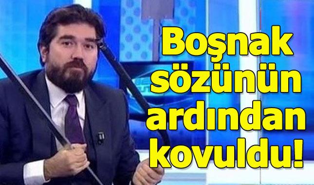 Rasim Ozan Kütahyalı, Beyaz TV'den kapı dışarı edildi