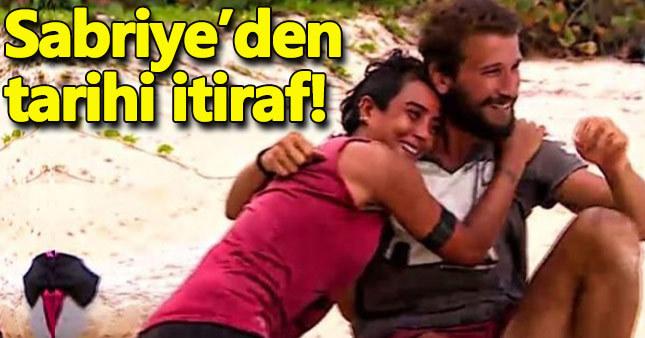 Sabriye'den Survivor tarihine geçecek itiraf!