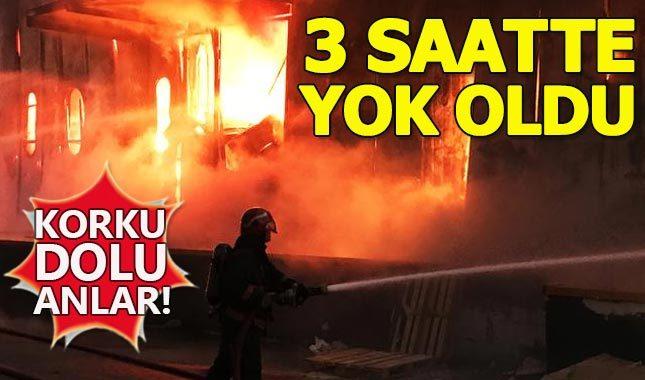 Sakarya'daki dev fabrika yangında kül oldu