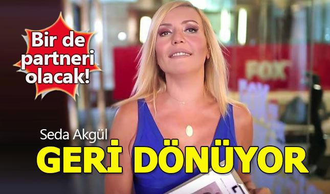 Seda Akgül yeni programla ekrana geri dönüyor