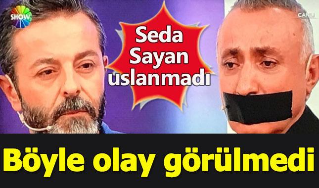 Seda Sayan'ın programında 'protesto' rezilliği