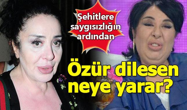 Şehitlere saygısızlık eden Nur Yerlitaş özür diledi