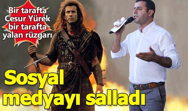 Selahattin Demirtaş'ın Cesur Yürek benzetmesi!