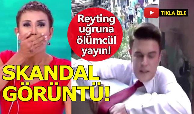 Serap Paköz'ün muhabiri reyting uğruna kendini öldürecekti