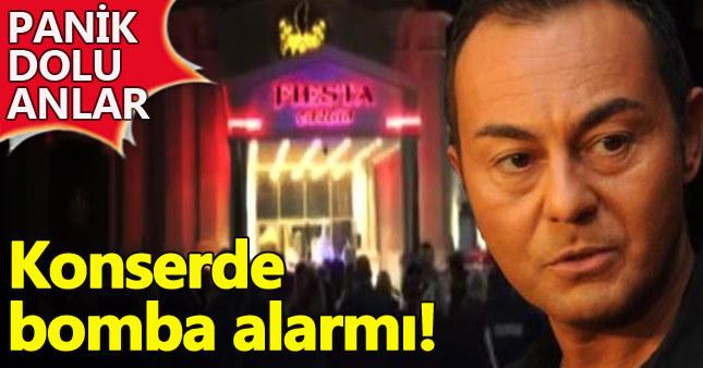 Serdar Ortaç konserinde bombalı saldırı alarmı
