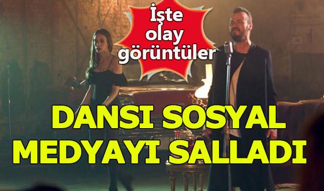Serenay Sarıkaya'dan sosyal medyayı sallayan dans