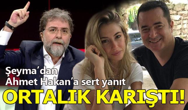 Şeyma Subaşı'dan Ahmet Hakan'a sert yanıt