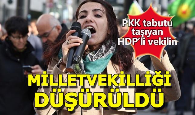Son Dakika... HDP'li Tuğba Hezer'in milletvekilliği düşürüldü