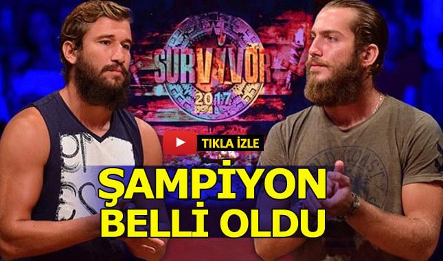 Survivor'ı kim kazandı? Survivor 2017 şampiyonu kim oldu? Adem mi Ogeday mı?