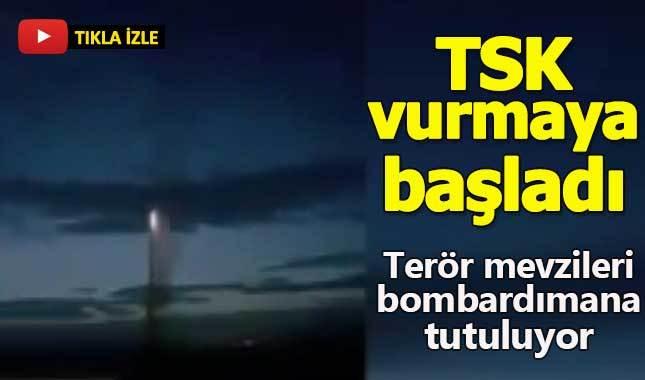 TSK, Afrin'i bombardımana tuttu