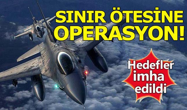 TSK'dan sınır ötesi operasyon!