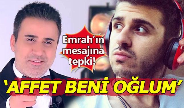Tayfun Erdoğan'dan babası Emrah'ın sahte sözlerine tepki