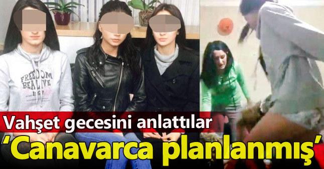 Trabzon'da darp edilen kızlardan açıklama