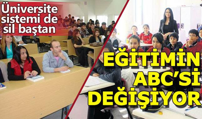 Türkiye'de eğitimin 'ABC'si yeniden yazılıyor