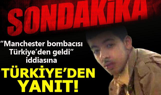 Türkiye'den Manchester saldırganı hakkında açıklama