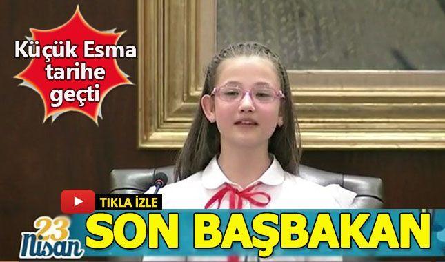 Türkiye'nin son çocuk Başbakanı!