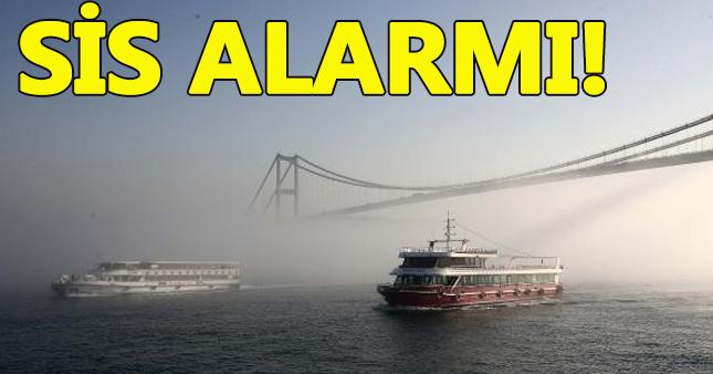 Yoğun sis İstanbul'u esir aldı