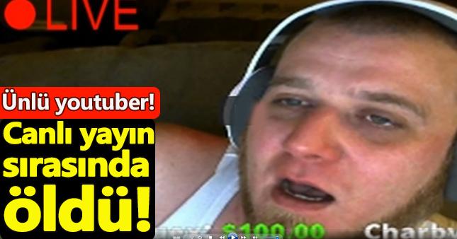 YouTube canlı yayını yaparken öldü!