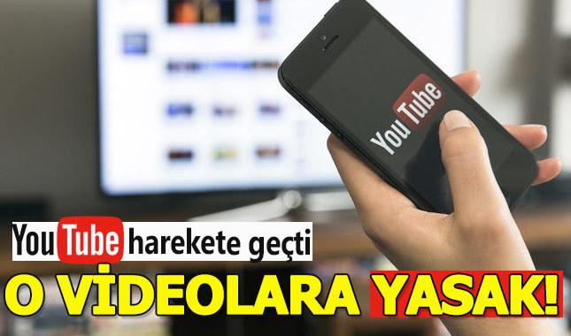 YouTube o videolara yasak getiriyor