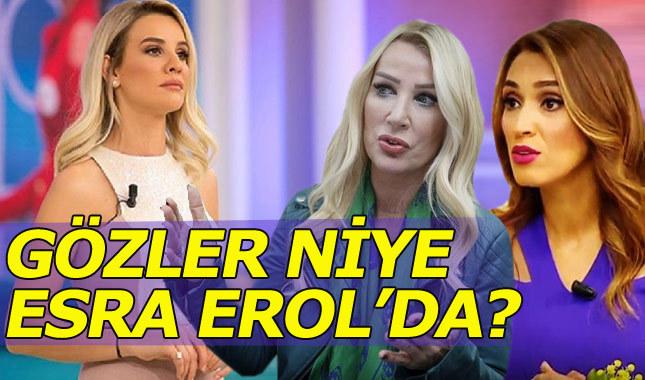 Zuhal Topal ve Seda Sayan'ın gözü neden Esra Erol'da?