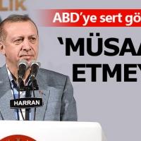 Erdoğan'dan ABD'ye gönderme: Suriye'de devlet kurulmasına izin vermeyiz