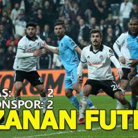 Beşiktaş-Trabzonspor maç sonucu: 2-2 (Geniş Özet)