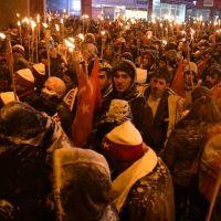 10 bin kişi Sarıkamış şehitleri için yürüdü!
