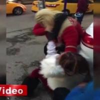 Başkentte hayrete düşüren kadın kavgası!