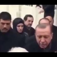 Erdoğan'ın Koruması şaşırttı