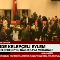 Meclis'te kadın vekillerin kavgası