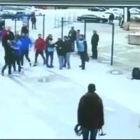 Başakşehir'li oyuncular gazetecilere saldırdı