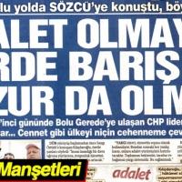 23 Haziran 2017 Gazete Manşetleri