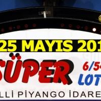 Süper Loto çekiliş sonuçları 25 Mayıs 2017 - Çıkan numaralar sayılar rakamlar