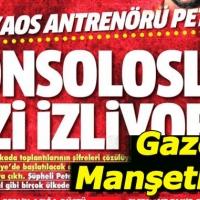 25 Temmuz salı gazete manşetleri