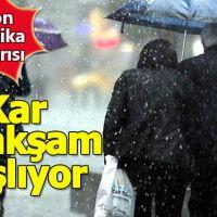 28 Kasım 2018 Çarşamba hava durumu nasıl olacak Bugün İstanbul'da yağmur yapacak mı?