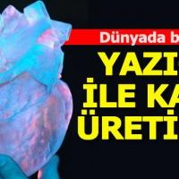 3D yazıcı ile kalp üretildi