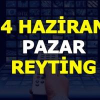 4 haziran pazar 2017 reyting sonuçları açıklandı Türk Malı mı, Survivor mı?