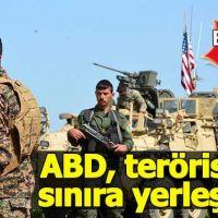 ABD, yüzlerce PKK'lıyı Suriye sınırına yerleştirdi