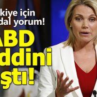 ABD'den Türkiye'ye küstah Afrin çağrısı!