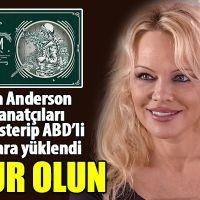 ABD'li oyuncu Pamela Anderson'un Susamam şarkısını paylaşıp destek olması
