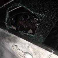 AK Parti'li ilçe başkanının aracına saldırı