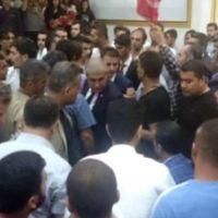 AK Parti'nin Diyarbakır toplantısında kavga çıktı