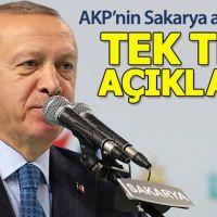 AK Parti'nin Sakarya adayları açıklandı