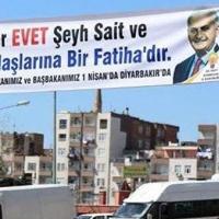 AKP'den Şeyh Sait pankartı ile ilgili açıklama