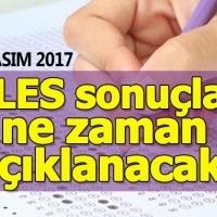 ALES sonuçları ne zaman açıklanacak? ÖSYM resmi duyurusu (19 Kasım 2017)