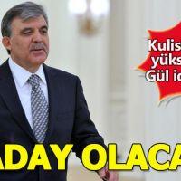 Abdullah Gül Cumhurbaşkanı adayı olacak mı?
