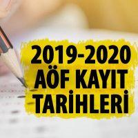 Açık öğretim kayıt tarihleri | Açık öğretim üniversite başvuruları ne zaman 2019 | açıköğretim kayıtları nasıl yapılır?
