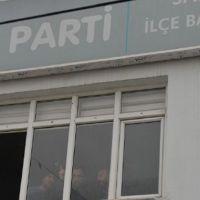 Adana'da İYİ Parti ilçe binasına silahlı saldırı